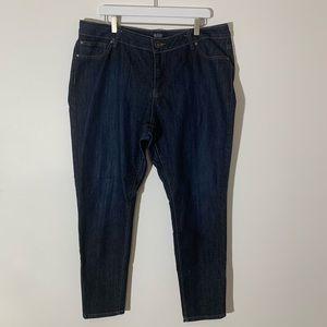 A.N.A Plus size legging dark denim 18W